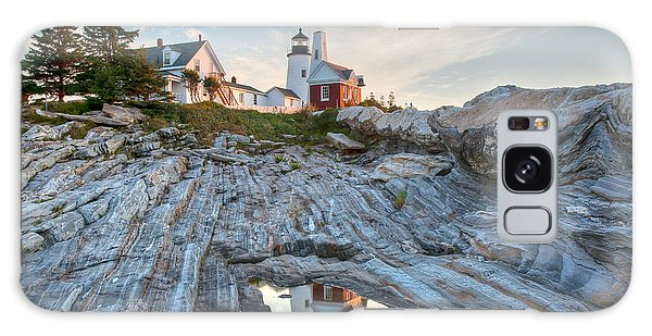 Pemaquid Point Reflection Galaxy Case