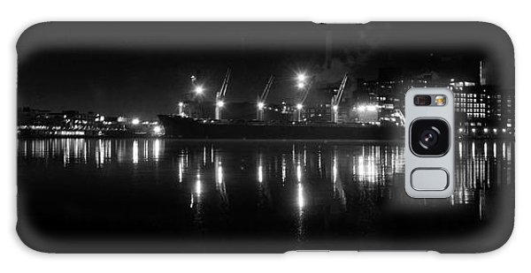 Point Lights Bw Galaxy Case