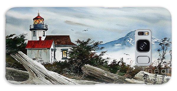 Point Robinson Lighthouse And Mt. Rainier Galaxy Case