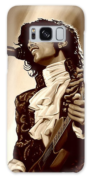 Prince The Artist Galaxy Case by Paul Meijering