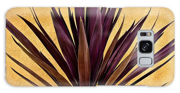 Purple Giant Dracaena Santa Fe Galaxy Case by John Hansen