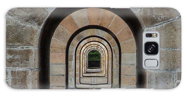 Receding Arches Galaxy Case