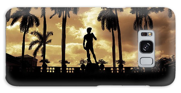Replica Of The Michelangelo Statue At Ringling Museum Sarasota Florida Galaxy Case