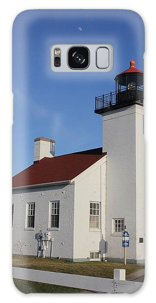 Sand Point Lighthouse Escanaba Galaxy Case