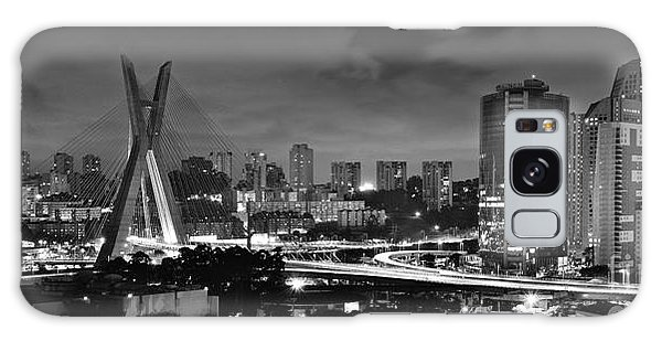 Sao Paulo Iconic Skyline - Cable-stayed Bridge - Ponte Estaiada Galaxy Case