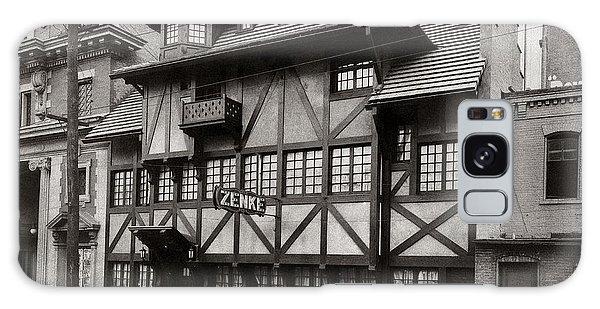 Scranton Pa Zenke's Alt Heidelberg Restaurant Early 1900s Galaxy Case