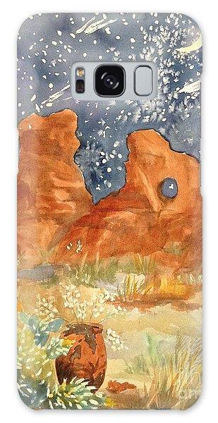 Starry Night In The Desert Galaxy Case