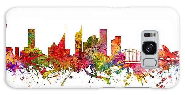 Sydney Australia Cityscape 08 Galaxy Case by Aged Pixel