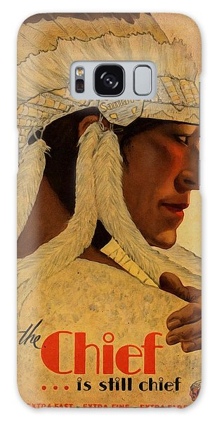 The Chief Train - Vintage Poster Vintagelized Galaxy Case