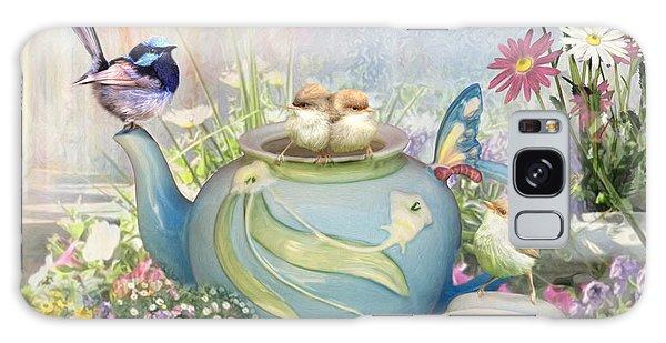 Tiny Tea Party Galaxy Case