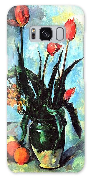Tulips In A Vase Galaxy Case