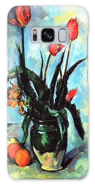 Tulips In A Vase Galaxy Case