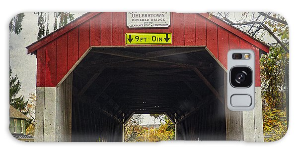 Uhlerstown Covered Bridge Iv Galaxy Case