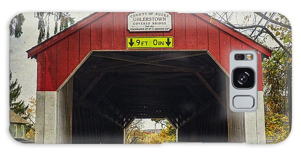 Uhlerstown Covered Bridge Iv Galaxy Case