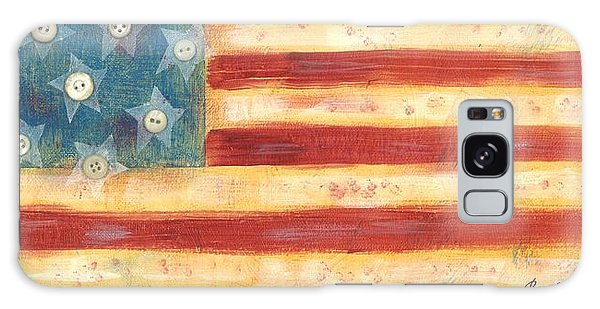 U.s. Flag Vintage Galaxy Case