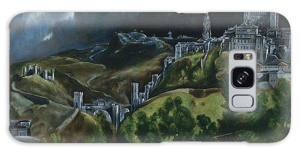 Ominous Galaxy Case -  View Of Toledo by El Greco