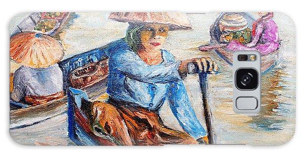 Women On Jukung Galaxy Case by Jason Sentuf