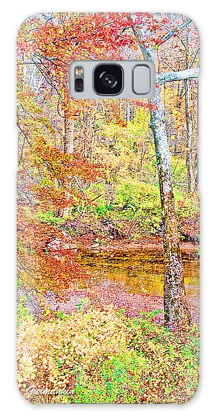 Galaxy Case -  Woods In Autumn Montgomery Cty Pennsylvania by A Gurmankin