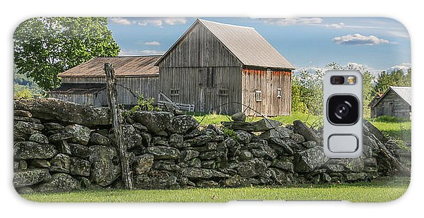 #0079 - Robert's Barn, New Hampshire Galaxy Case