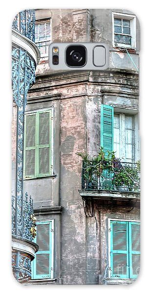 0254 French Quarter 10 - New Orleans Galaxy Case