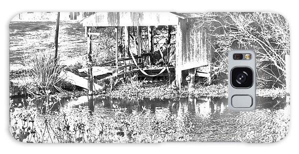03192015 Boat Shed Lafourch Parish Galaxy Case