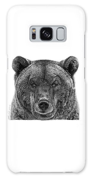 045 Papa Bear Galaxy Case by Abbey Noelle