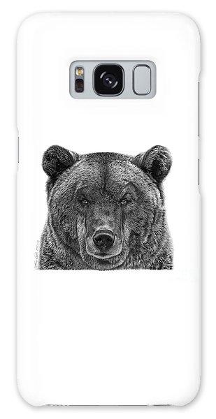 045 Papa Bear Galaxy Case by Abbey Noelle