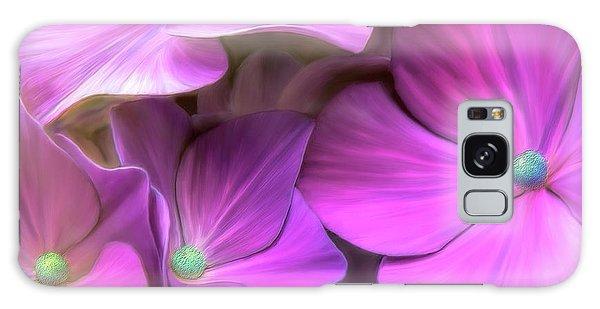 Hydrangea Florets Galaxy Case