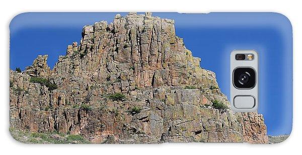 Mountain Scenery Hwy 14 Co Galaxy Case