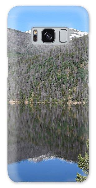 Chambers Lake Reflection Hwy 14 Co Galaxy Case