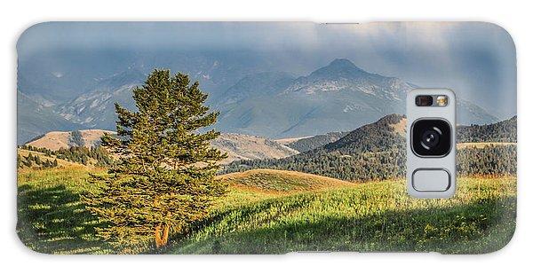 #0613 - Absaroka Range, Paradise Valley, Southwest Montana Galaxy Case