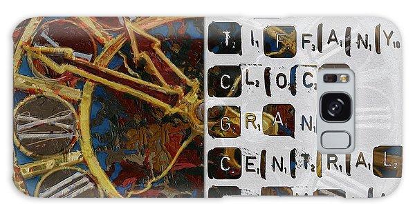 Central America Galaxy Case - 082 Tiffany Clockb by Mahnoor Shah