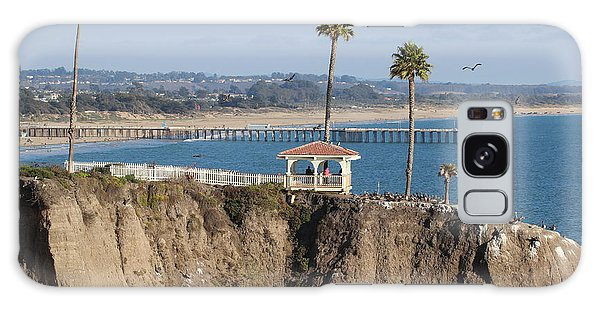 Pismo Beach Gazebo And Pier Galaxy Case