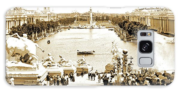 Galaxy Case - 1904 World's Fair, Grand Basin View From Festival Hall by A Gurmankin