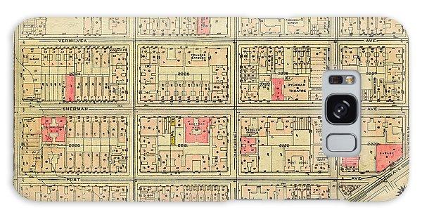 1927 Inwood Map  Galaxy Case