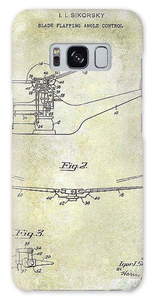 1947 Helicopter Patent Galaxy Case by Jon Neidert