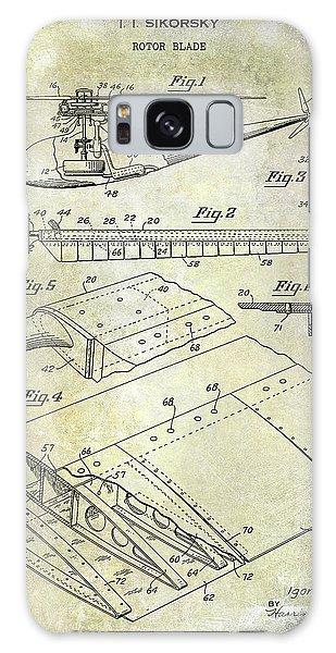 1949 Helicopter Patent Galaxy Case by Jon Neidert