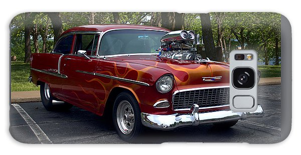 1955 Chevrolet Dragster Galaxy Case by Tim McCullough
