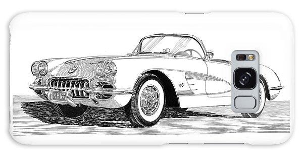 Sport Art Galaxy Case - 1960 Corvette by Jack Pumphrey