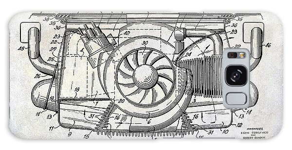 Six Galaxy Case - 1962 Porsche Engine Patent by Jon Neidert