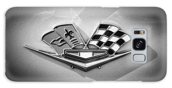 Galaxy Case featuring the photograph 1964 Chevrolet Corvette Sting Ray Gm Styling Coupe Side Emblem -0153c by Jill Reger