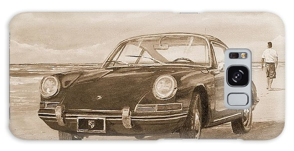 1967 Porsche 912 In Sepia Galaxy Case