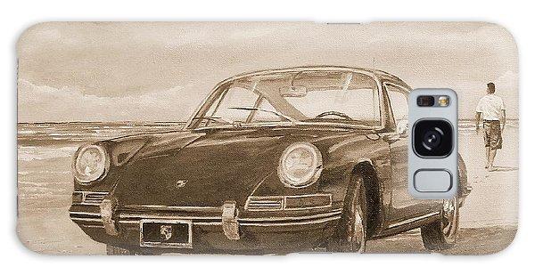 1967 Porsche 912 In Sepia Galaxy Case