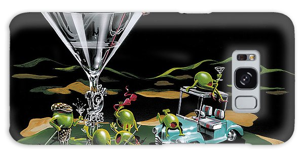 Cart Galaxy Case - 19th Hole by Michael Godard