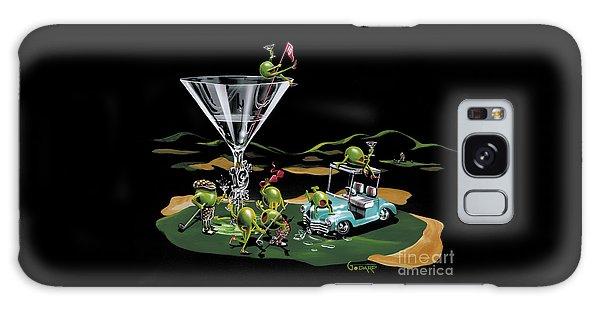 Martini Galaxy S8 Case - 19th Hole by Michael Godard
