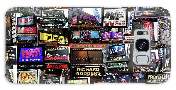 2016 Broadway Fall Collage Galaxy Case