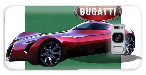 Automotive Galaxy Case - 2025 Bugatti Aerolithe Concept With 3 D Badge  by Serge Averbukh
