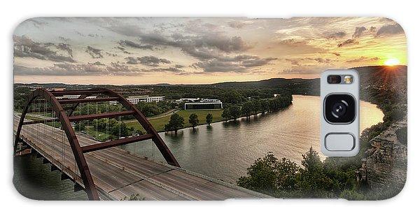 360 Bridge Sunset Galaxy Case