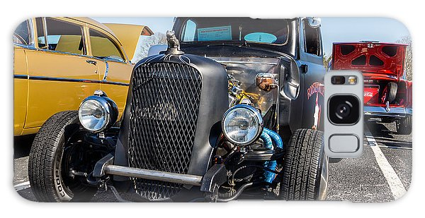 Galaxy Case featuring the photograph 51 Ford F-1 Rat Rod - Ehhs Car Show by Michael Sussman