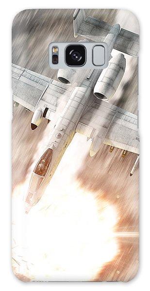 A-10 Thunderbolt II Galaxy Case by David Collins